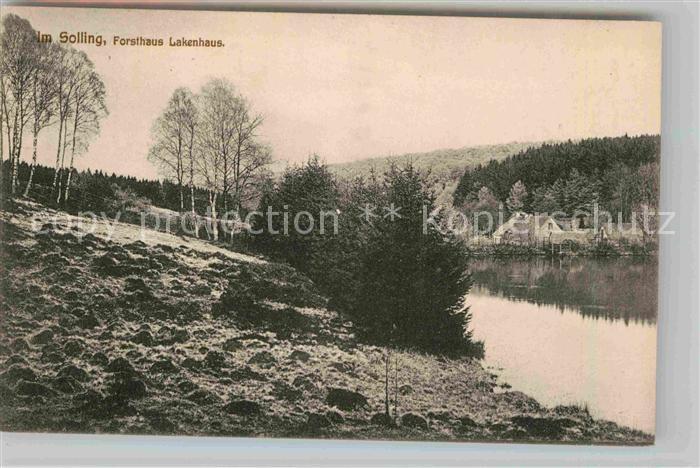 AK / Ansichtskarte Lakenhaus Solling See Kat. Dassel