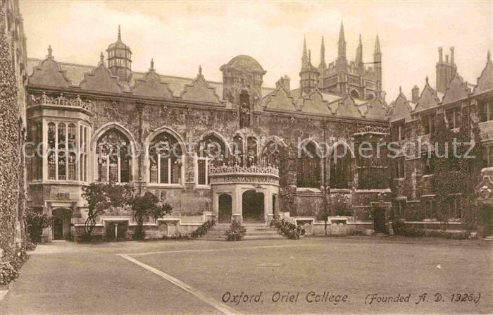 AK / Ansichtskarte Oxford Oxfordshire Oriel College Kat. Oxford