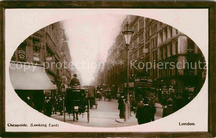 AK / Ansichtskarte London Cheapside  Kat. City of London