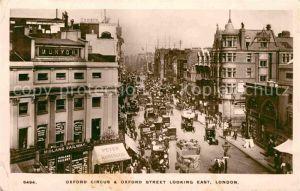 AK / Ansichtskarte London Oxford Circus and Oxford Street Kat. City of London