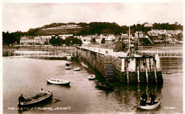 AK / Ansichtskarte Jersey The Jetty St Aubins Kat. Jersey