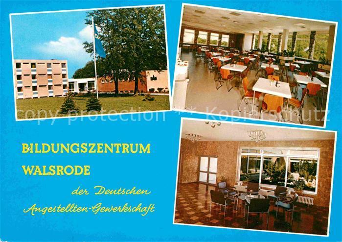 AK / Ansichtskarte Walsrode Lueneburger Heide Bildungszentrum der DAG Saal Kat. Walsrode