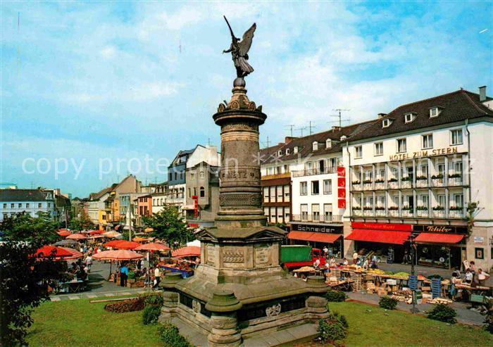 ak ansichtskarte siegburg marktplatz kat siegburg nr kb17048 oldthing ansichtskarten. Black Bedroom Furniture Sets. Home Design Ideas