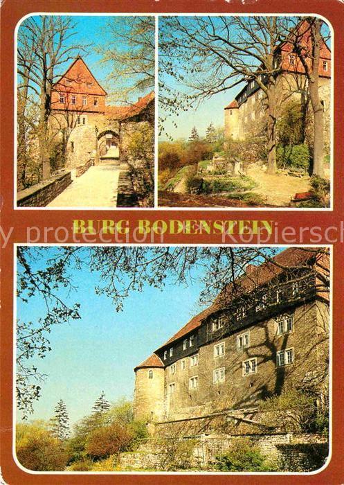 AK / Ansichtskarte Wintzingerode Burg Bodenstein Portal Kat. Leinefelde Worbis