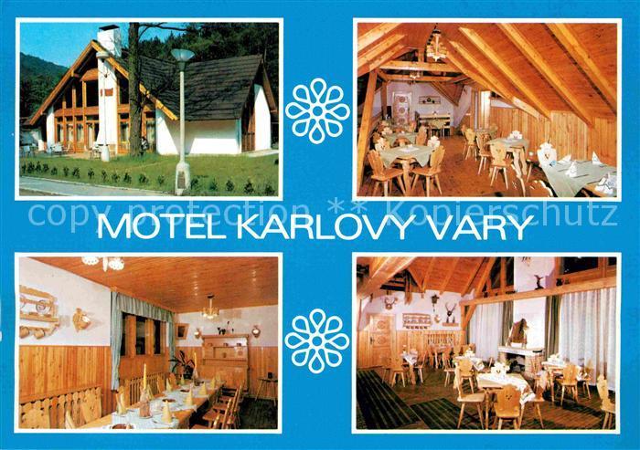 AK / Ansichtskarte Karlovy Vary Motel Karlovy Vary Gastraeume Kat. Karlovy Vary Karlsbad