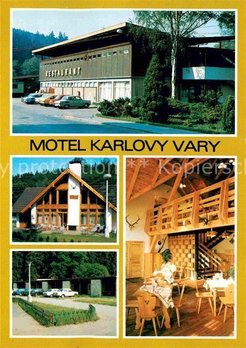 AK / Ansichtskarte Karlovy Vary Motel Karlovy Vary Autokemping Kat. Karlovy Vary Karlsbad