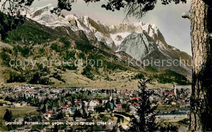 AK / Ansichtskarte Garmisch Partenkirchen Zugspitzgruppe Kat. Garmisch Partenkirchen