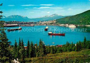 AK / Ansichtskarte Narvik View from Ankenes Kat. Narvik