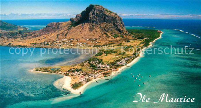 AK / Ansichtskarte Mauritius Luftaufnahme Kat. Mauritius