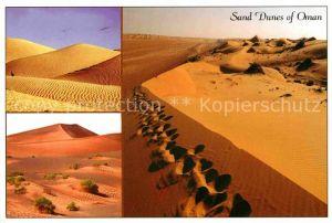 AK / Ansichtskarte Oman Sandduenen Kat. Oman