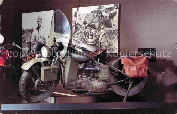 AK / Ansichtskarte Motorrad 1942 Harley Davidson World War II Kat. Zweiraeder