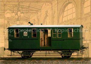 AK / Ansichtskarte Eisenbahn Bahnpostwagen PTT Museum Bern  Kat. Eisenbahn