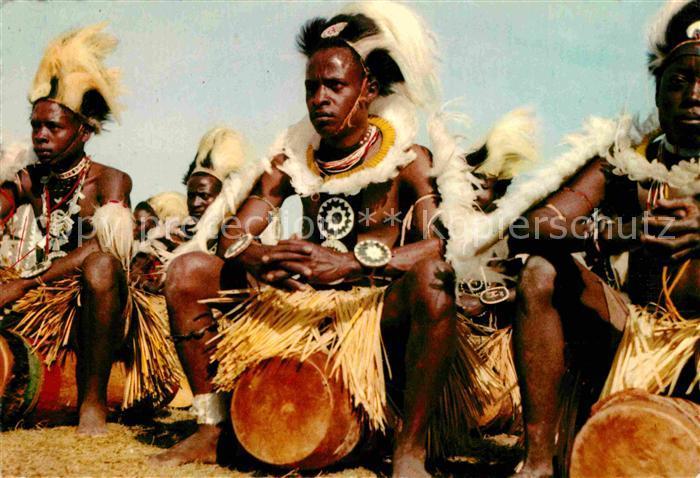 AK / Ansichtskarte Typen Afrika Chuka Drummers East Africa
