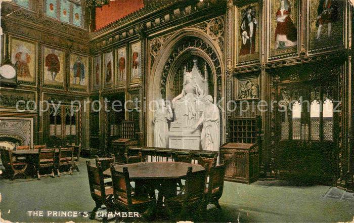 AK / Ansichtskarte London The House of Lords Princess Chamber Kat. City of London