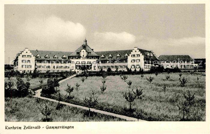 AK / Ansichtskarte Gammertingen Kurheim Zolleralb Kat. Gammertingen