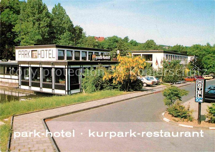 Ak Ansichtskarte Bad Muenstereifel Parkhotel Kurpark Restaurant