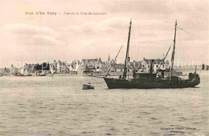 AK / Ansichtskarte Ile Tudy Vue de la Cale de Loctudy  Kat. Ile Tudy