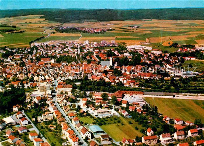 AK / Ansichtskarte Riedlingen Donau Fliegeraufnahme Kat. Riedlingen