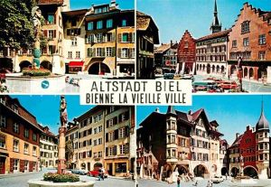 AK / Ansichtskarte Biel Bienne Altstadt  Kat. Biel