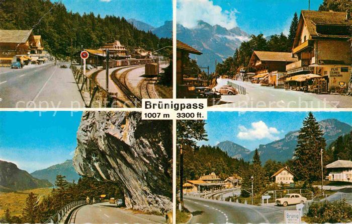 AK / Ansichtskarte Bruenigpass Alpenpass
