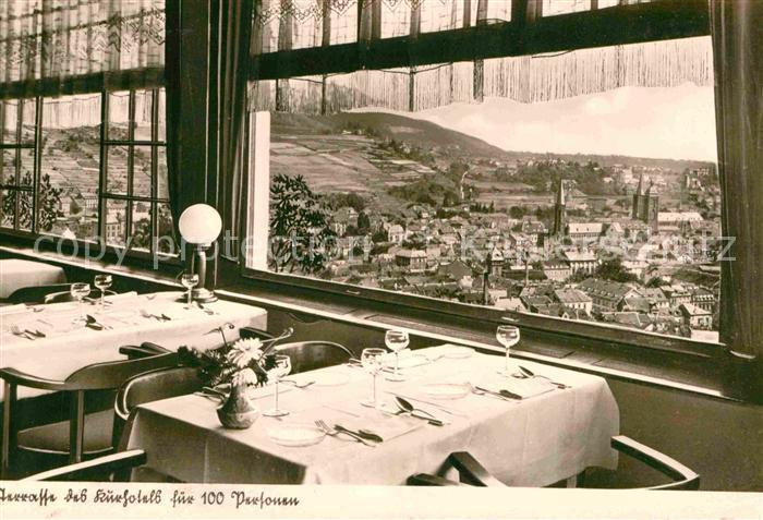 AK / Ansichtskarte Neustadt Weinstrasse Hotel Gasthaus Kohler Terrasse Kat. Neustadt an der Weinstr.
