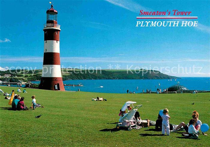 AK / Ansichtskarte Plymouth Plymouth Smeaton s Tower Plymouth Hoe Leuchtturm Kat. Plymouth