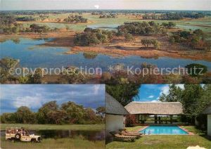 AK / Ansichtskarte Maun Tsaro Lodge Swimming Pool Safari Landschaftspanorama
