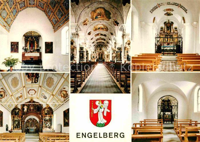 AK / Ansichtskarte Engelberg OW Kapelle Schwand Klosterkirche Kapelle im Holz Kapelle Horbis Kapelle Espen Kat. Engelberg