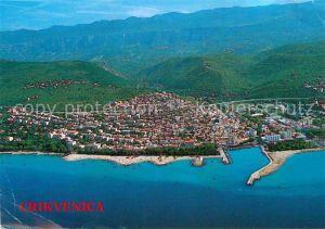 AK / Ansichtskarte Crikvenica Kroatien Luftbild Kat. Kroatien