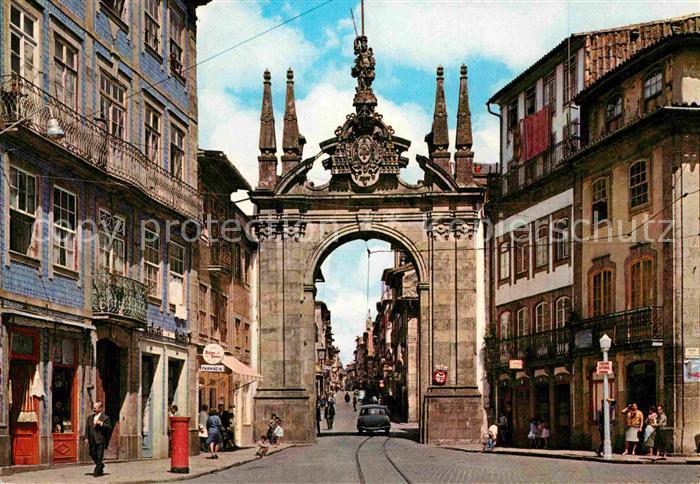 AK / Ansichtskarte Braga Arco de Porta Nova Kat. Braga