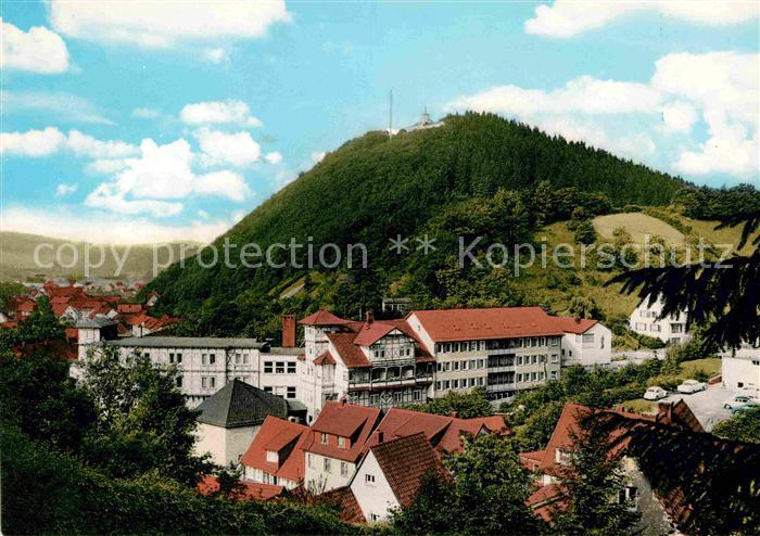 AK / Ansichtskarte Bad Lauterberg Sanatorium St. Benno Stift  Kat. Bad Lauterberg im Harz
