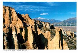 AK / Ansichtskarte Neuseeland Clay Cliffs Omarama Kat. Neuseeland