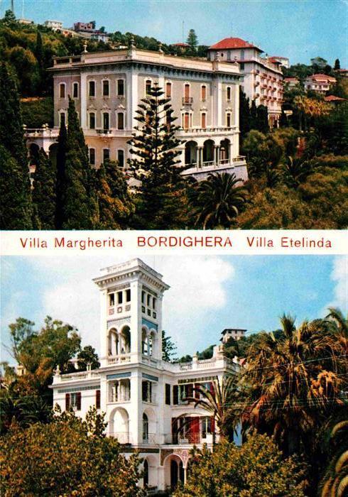 AK / Ansichtskarte Bordighera Villa Margherita Villa Etelinda Kat. Bordighera