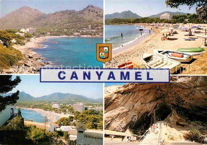 AK / Ansichtskarte Canyamel Panorama Strand Hoehle Berge Kat. Mallorca