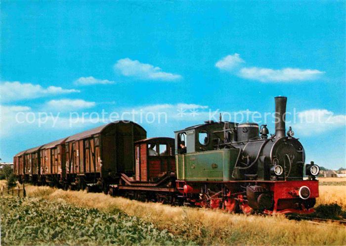 AK / Ansichtskarte Lokomotive Hoya Erste Museums Eisenbahn Deutschland Kursbuch Strecke 102  Kat. Eisenbahn