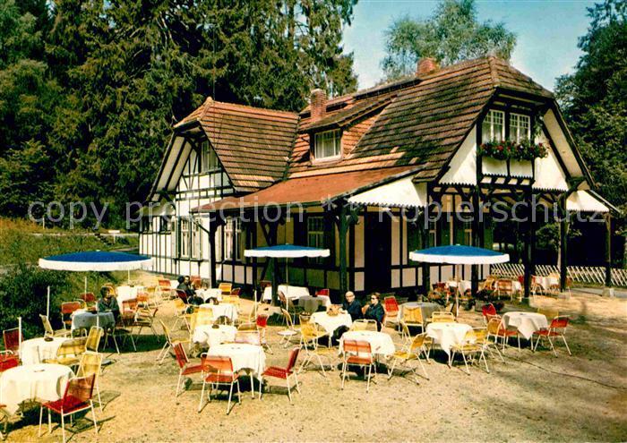 AK / Ansichtskarte Bad Schwalbach Golf Cafe Restaurant im Kurpark  Kat. Bad Schwalbach