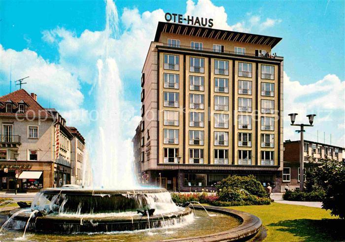 AK / Ansichtskarte Kaiserslautern Fackelrondell mit OTE Haus Kat. Kaiserslautern