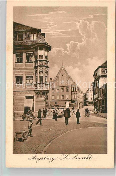 AK / Ansichtskarte Augsburg Kesselmarkt Kat. Augsburg
