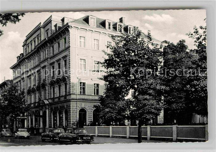 AK / Ansichtskarte Augsburg Hotel Drei Kronen Kat. Augsburg