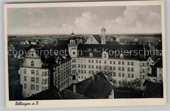 AK / Ansichtskarte Dillingen Donau Schloss Kat. Dillingen a.d.Donau