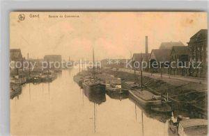 AK / Ansichtskarte Gand Belgien Hafen Kat. Gent Flandern