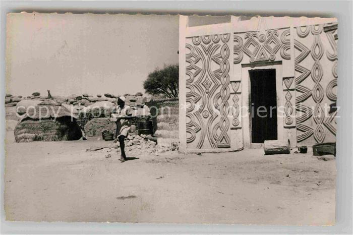 AK / Ansichtskarte Zinder Porte Musulmane
