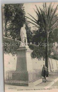 AK / Ansichtskarte Alger Algerien Statue du Marechal de Mac Mahon
