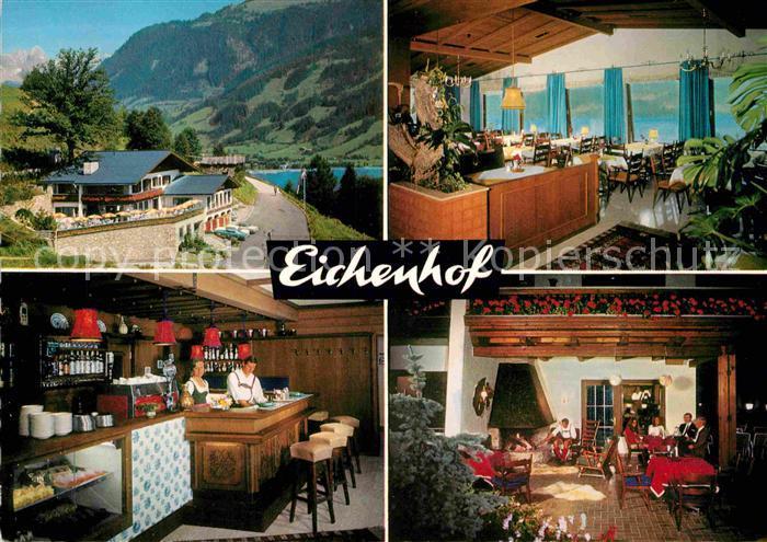 AK / Ansichtskarte Zell See Eichenhof Restaurant Cafe Kat. Zell am See