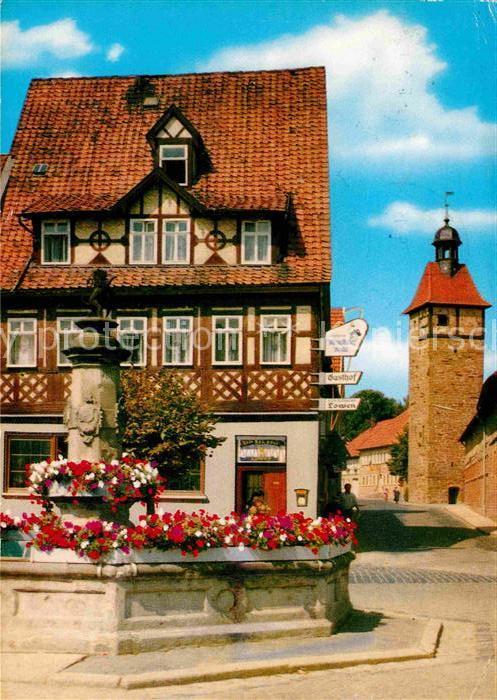 AK / Ansichtskarte Rodach Coburg Gasthaus Zum goldnen Loewen Kat. Bad Rodach