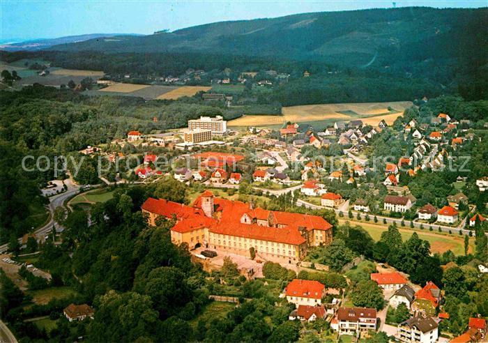 AK / Ansichtskarte Bad Iburg Fliegeraufnahme Kneipp Heilbad Kat. Bad Iburg