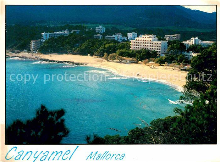 AK / Ansichtskarte Canyamel Panorama Kueste Strand Hotels Kat. Mallorca