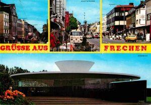 AK / Ansichtskarte Frechen Innenstadt Hauptstrasse Keramion Keramikmuseum Kat. Frechen