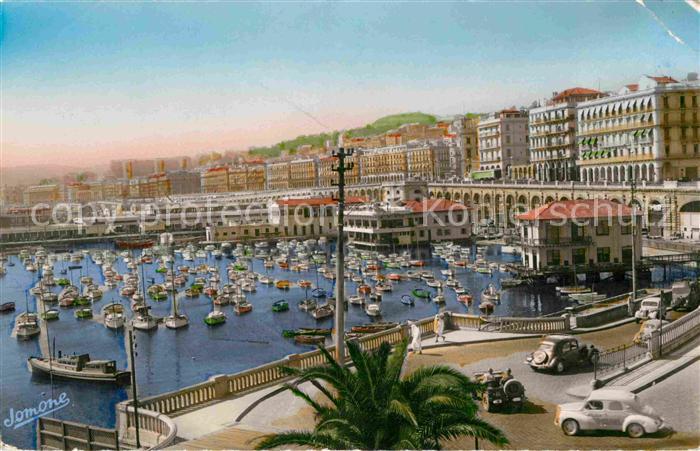 AK / Ansichtskarte Alger Algerien Rampes de l Amiroute et Boulevard Amiral Pierre
