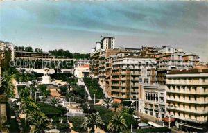 AK / Ansichtskarte Alger Algerien Le Boulevard l Hotel Albert